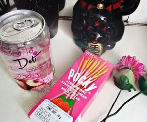 aesthetic, flowers, and pocky image