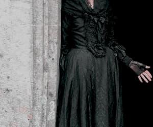 dark, dress, and victorian image