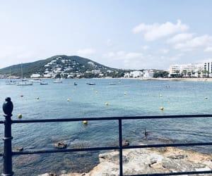 bay, beach, and ibiza image