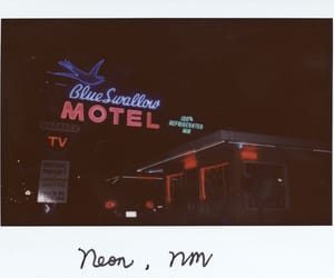 film, instax, and neon image