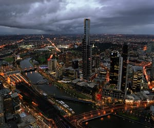 120, melbourne, and night image