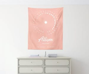 etsy, home decor, and birth announcement image