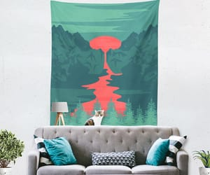 etsy, home decor, and wall tapestry image