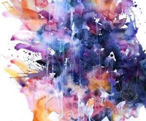 acuarela, colores, and arte image