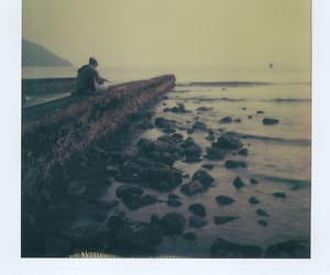 artistic, beach, and stones image