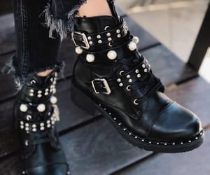 style, black, and shoes image