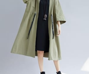 women coat, etsy, and loose coat image