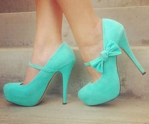 bows, tiffany blue, and fashion image