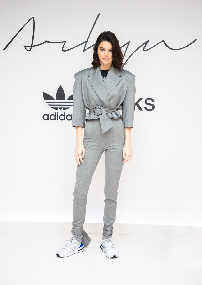 4518: [Newold] Attends the Adidas Originals Arkyn launch