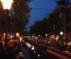 amsterdam, light, and photographie image