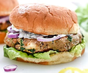 burger, food, and food recipe image