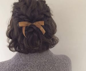 hair, short, and cute image