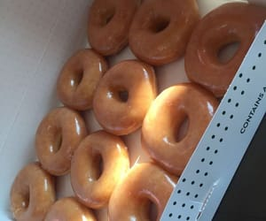 donuts, fat, and food image
