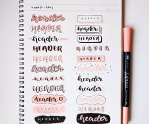 calligraphy, notes, and header image
