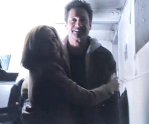 behind the scenes, david duchovny, and scully image