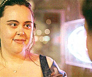 gif, my mad fat diary, and sharon rooney image