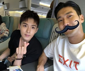 mustache, ryeowook, and cute image