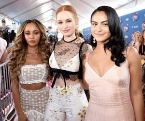 vanessa morgan, camila mendes, and riverdale image