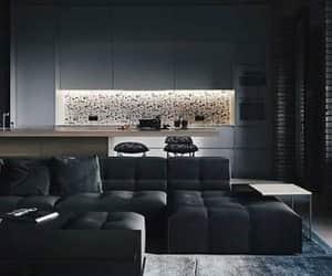 black, cocina, and diseno image