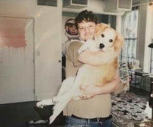 dog, family, and man image