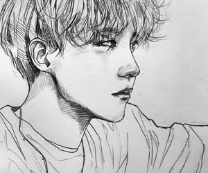fan art, bts, and jung ho seok image