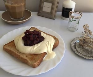 aesthetic, breakfast, and brown image