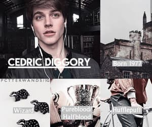 aesthetic, cedric diggory, and character image