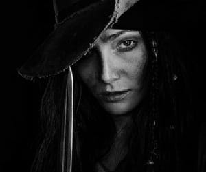 black-white, pretty, and clara paget image