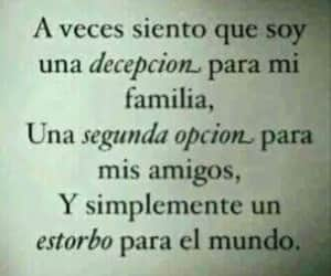 frases, decepcion, and depresion image