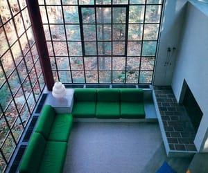70s, architecture, and interior image