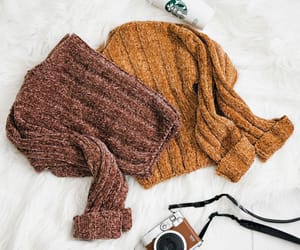 cozy, fall, and fuzzy image