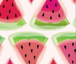wallpaper, sandías, and watermelon image