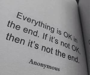 english, the end, and everything is ok image