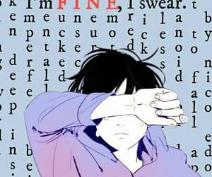 alone, anime, and boy image