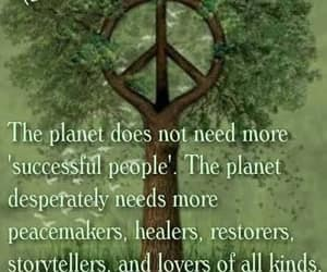 advice, lovers, and peace sign image
