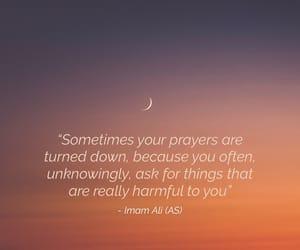 islam, prayer, and quote image