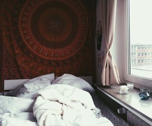 bed, inspo, and pillows image