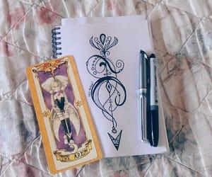 arrow, draw, and sakura card captor image