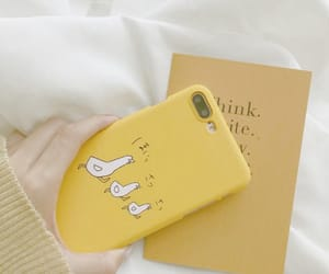 yellow, case, and aesthetic image
