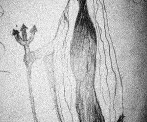 666, creepy, and death image