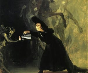 art, goya, and painting image