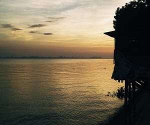indonesia, my home, and sunset image