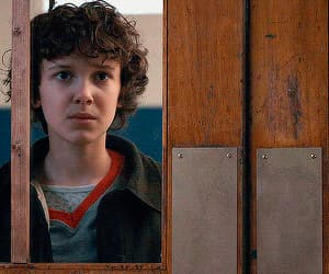 eleven, gif, and millie bobby brown image