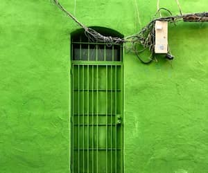 doors, photography, and green image