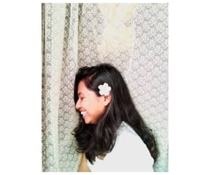 black hair, smile, and indonesian image