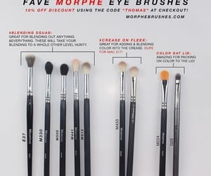 Brushes, makeup, and morphe image