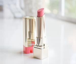 cosmetics, lipgloss, and lipstick beauty image