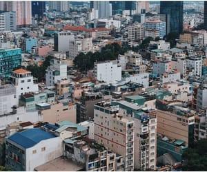 hometown, vietnamese, and hochiminhcity image