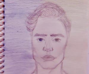 art, sketch, and sketching image