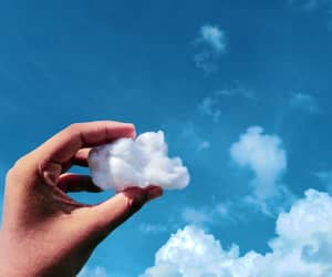 blue, cloud, and nature image